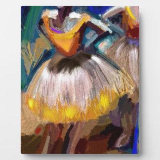 Placa Expositora Ballet - Dega