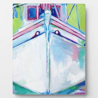 Placa Expositora Barco de la puesta del sol