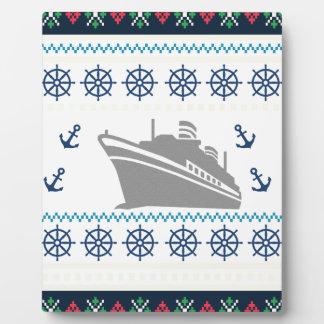Placa Expositora Barcos de cruceros