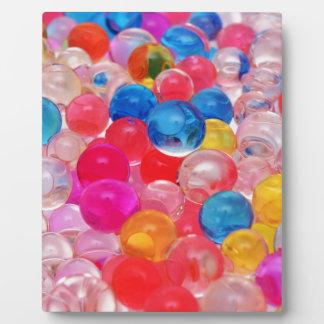 Placa Expositora bolas de la jalea de la textura