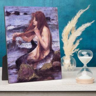 Placa Expositora Bosquejo para una sirena por el WaTERHOuSE de J W