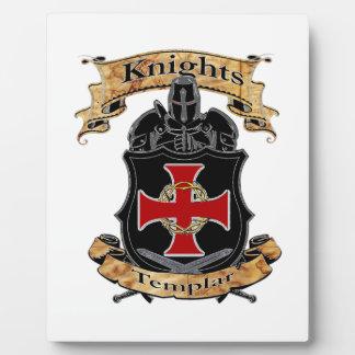 Placa Expositora Caballeros Templar