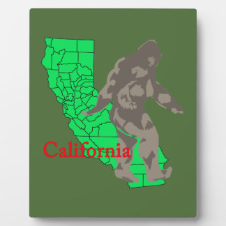 Placa Expositora California Bigfoot