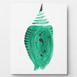 Placa Expositora Capullo de la turquesa del cobalto