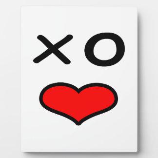 Placa Expositora Cara divertida del amor