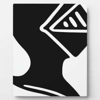 Placa Expositora Casco del caballero
