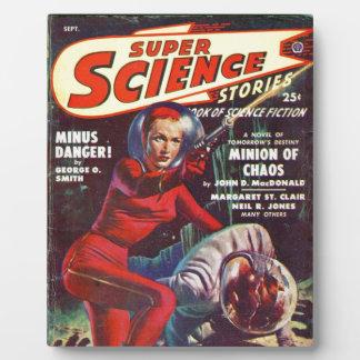 Placa Expositora Ciencia estupenda