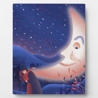 Placa Expositora Claro de luna