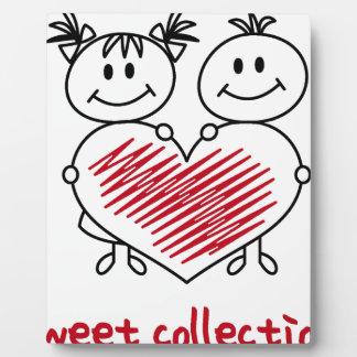 Placa Expositora colección dulce del amor