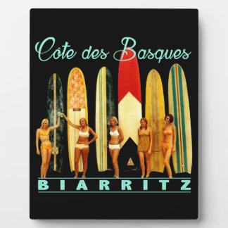 Placa Expositora Costa de los Vascos Biarritz