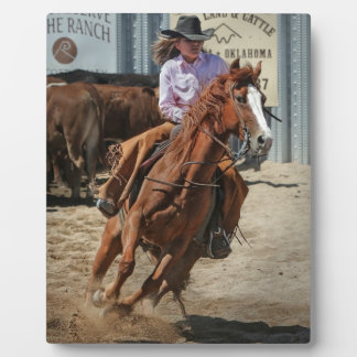 Placa Expositora cowgir