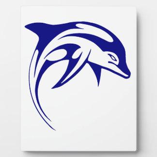 Placa Expositora Delfín azul