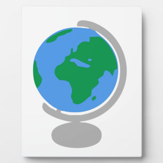 Placa Expositora Dibujo animado del globo