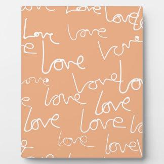 Placa Expositora doodles del amor