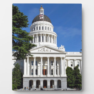 Placa Expositora Edificio del capitolio del estado de CA -