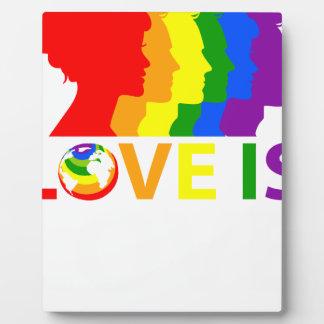 Placa Expositora El amor es amor