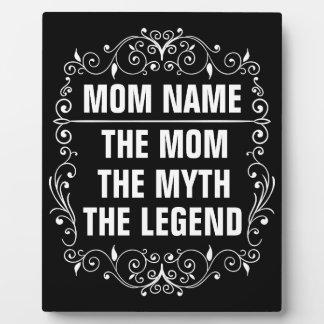 Placa Expositora El día de madre feliz de la mamá