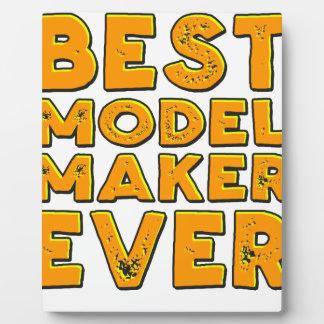 Placa Expositora El mejor fabricante modelo nunca