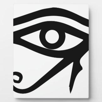 Placa Expositora El ojo del Ra