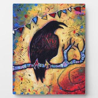Placa Expositora El regalo del cuervo