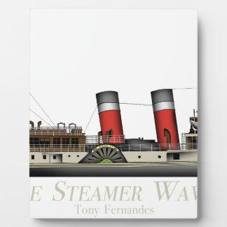 Placa Expositora El vapor de paleta Waverley de Tony Fernandes