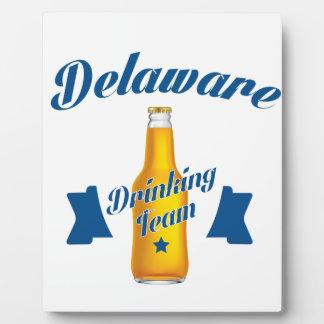 Placa Expositora Equipo de consumición de Delaware