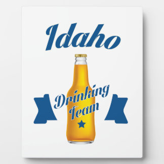 Placa Expositora Equipo de consumición de Idaho