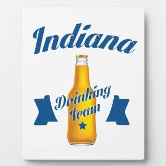 Placa Expositora Equipo de consumición de Indiana