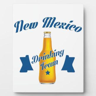 Placa Expositora Equipo de consumición de New México