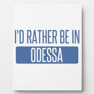 Placa Expositora Estaría bastante en Odessa