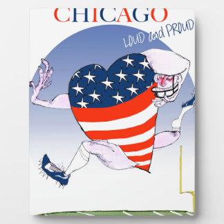 Placa Expositora Fernandes tony ruidosos y orgullosos de Chicago,