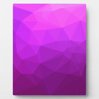 Placa Expositora Fondo bajo abstracto púrpura bizantino del
