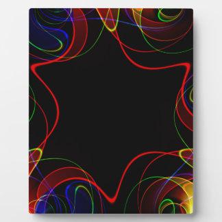 Placa Expositora Fractal #2 del arco iris