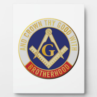 Placa Expositora fraternidad