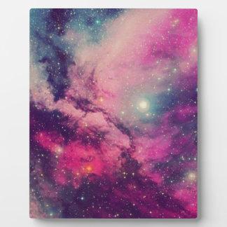 Placa Expositora Galaxia púrpura de la posluminiscencia
