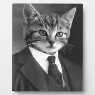 Placa Expositora Gato #1 del caballero
