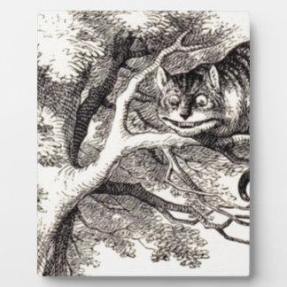 Placa Expositora Gato de Cheshire