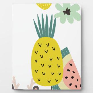 Placa Expositora Globos de la fruta