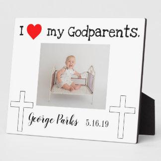 Placa Expositora Godparents bautizados
