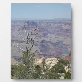 Placa Expositora Gran Cañón Arizona
