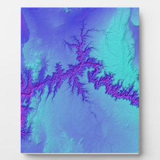Placa Expositora Gran Cañón del estilo brillante de la nebulosa de