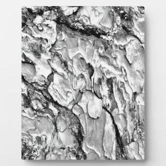 Placa Expositora hipster effect texture