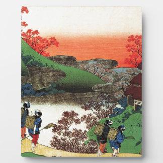 Placa Expositora Hokusai - arte japonés - Japón