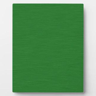 Placa Expositora Holzmaserung verde