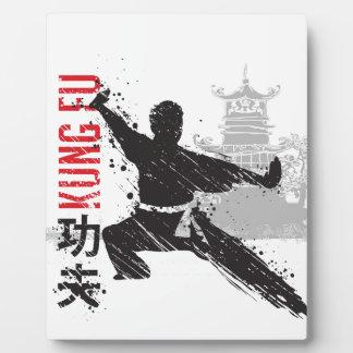 Placa Expositora Kung Fu