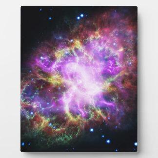 Placa Expositora La radiografía de Chandra en la nebulosa de