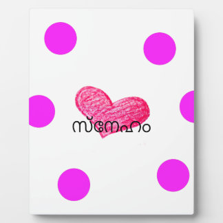 Placa Expositora Lengua del Malayalam del diseño del amor