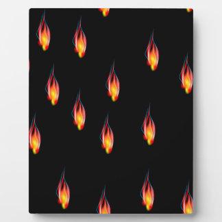 Placa Expositora Llamas del fuego