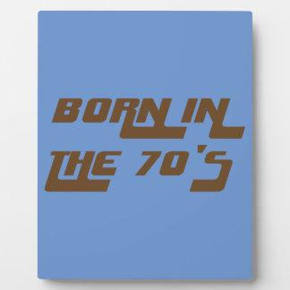Placa Expositora Llevado en los años 70