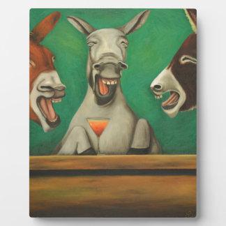 Placa Expositora Los burros de risa